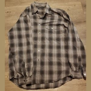 Kenneth Cole Men's casual button down